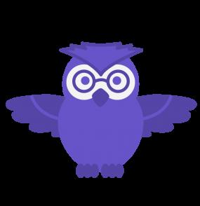 Cute owl in 3 poses-02